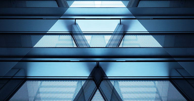 abstract-building-triangle-windows