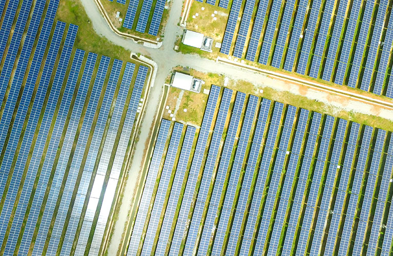 aerial-solar-panels-power-boxes